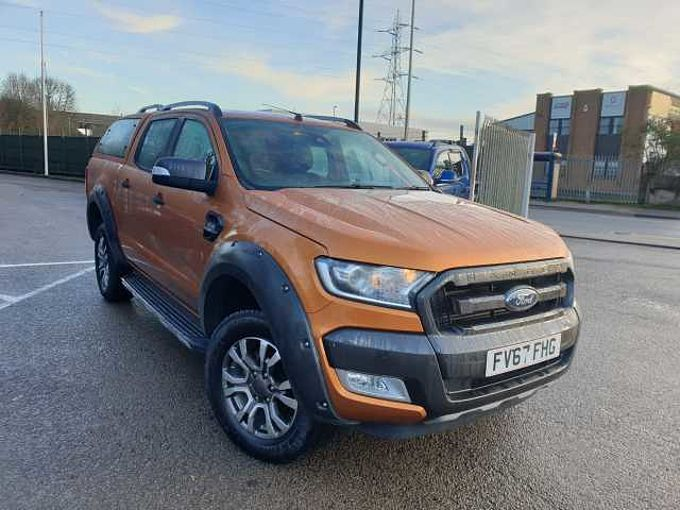 Ford Ranger 3.2TDCi (200 PS) Wildtrak 4x4 DC Pick-Up